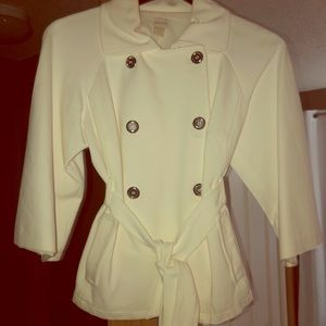 Double breasted silk lined blazer